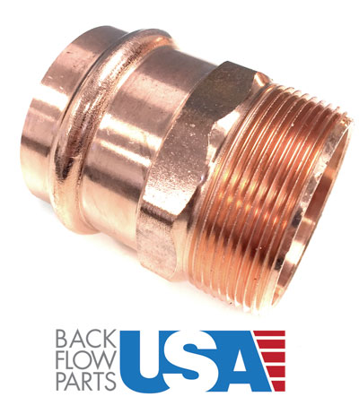 2 Quot Copper Compression Fittings Backflow Parts Usa